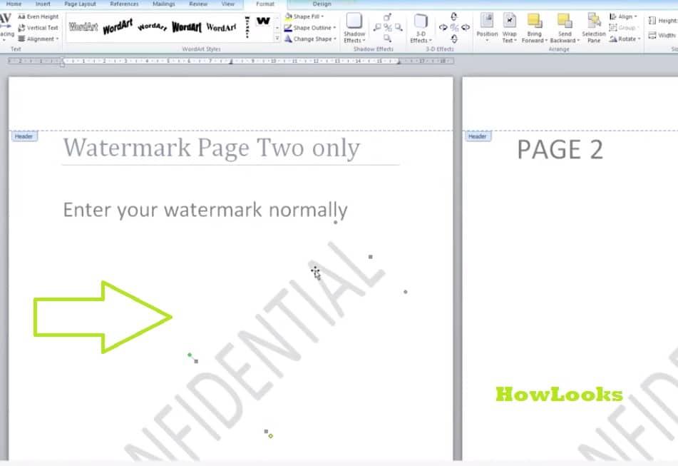 Copying watermark