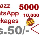 jazz whatsapp package monthly